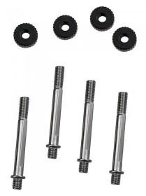 Koolance Befestigungsschrauben für 25mm Lüfter an Radiator (BLT-HX025)