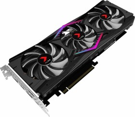 PNY GeForce RTX 2080 XLR8 Gaming OC Triple Fan, 8GB GDDR6, HDMI, 3x DP, USB-C (VCG20808TFPPB-O)
