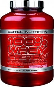 Scitec Nutrition 100% Whey Protein Professional strawberry-white chocolate 2.35kg