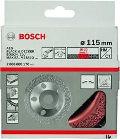 Bosch Professional Wolfram Carbide Topfscheibe flach 115mm mittel, 1er-Pack (2608600176)