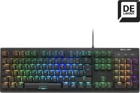 Sharkoon Skiller Mech SGK30, LEDs RGB, Huano RED, USB, DE (4044951030002)