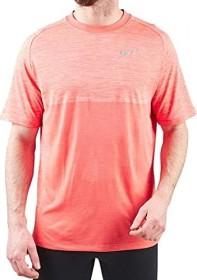 Nike Dri-FIT Medalist Laufshirt kurzarm rush coral/crimson pulse (Herren) (891426-816)