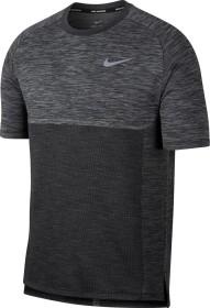 Nike Dri-FIT Medalist Laufshirt kurzarm wolf grey/black/reflective silver (Herren) (891426-012)