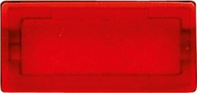 Merten System M Symbole rechteckig neutral, rot/transparent (395900)