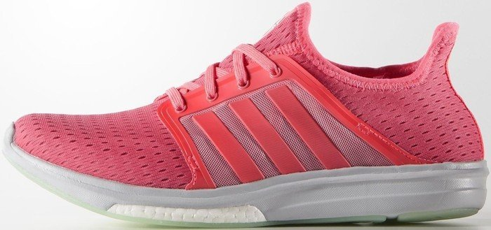 new product d86f6 c505e adidas Climacool Sonic Boost super pop flash red solar yellow (ladies) (