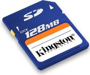 Kingston SD Card 128MB (SD/128)