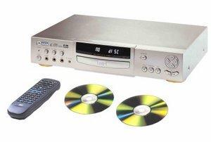 Mustek DVD-V300S silver