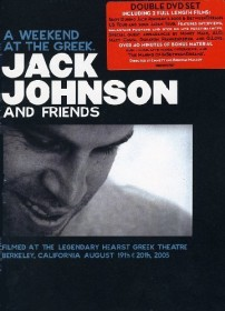 Jack Johnson - A Weekend at the Greek (DVD)