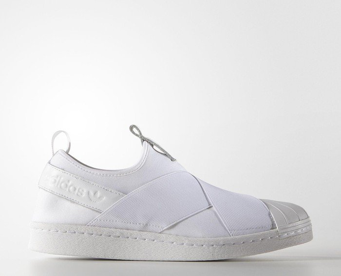 adidas superstar slip on weiß