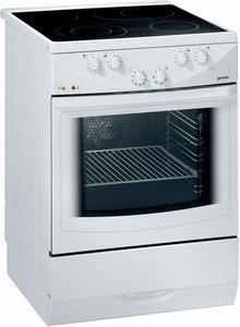 Gorenje EC7704W electric cooker with ceramic hob
