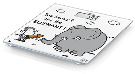 Soehnle Sheepworld Too heavy electronic personal scale (63343)