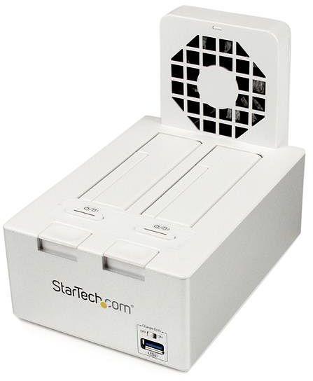"""StarTech Dual SATA stacja dokująca, 2x 2.5""""/3.5"""", USB-B 3.0 (SDOCK2U33HFW)"""