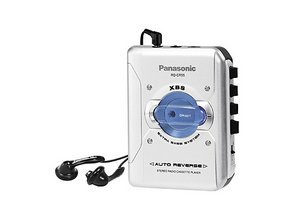 Panasonic RQ-CR55 silber