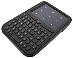 Trust Handheld wireless Keyboard & touchpad, USB (17930)