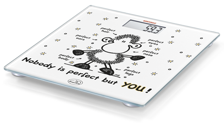 Soehnle Sheepworld Nobody is perfect but YOU electronic personal scale (63345)