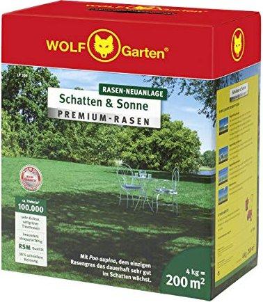Wolf Garten LP 200 Saatgut Premium Rasen, 4.00kg
