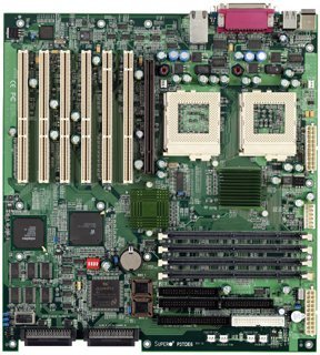 Supermicro 370DE6G, Serverworks III HE-SL, SCSI, LAN, ATI Rage XL 8MB AGP card, Dual