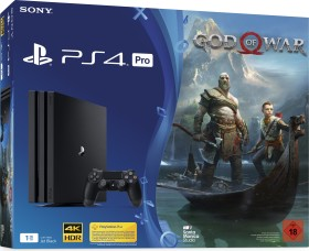 Sony PlayStation 4 Pro - 1TB God of War Bundle schwarz