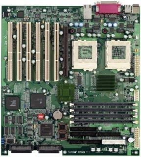 Supermicro 370DE6G, Serverworks III HE-SL, SCSI, LAN, ATI Rage XL 8MB AGP-Karte, Dual, Bulk