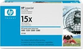 HP Toner 15X schwarz (C7115X)