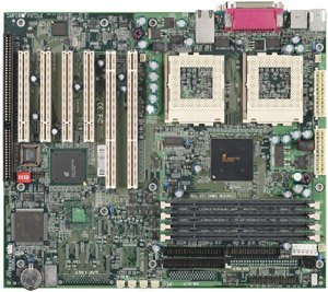 Supermicro 370DLE, Serverworks III LE, LAN, Dual (FC-PGA/FC-PGA2) (reg ECC SDR)