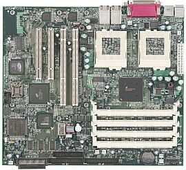 Supermicro P3TDLR, Serverworks III LE, SCSI, Dual (reg ECC SDR)