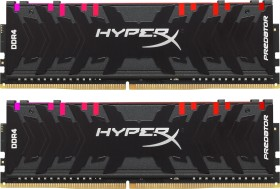 Kingston HyperX Predator RGB DIMM kit 16GB, DDR4-2933, CL15-17-17 (HX429C15PB3AK2/16)