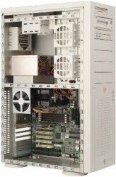 Supermicro SC760A, Big-Tower, redudantes Kühlungssystem, without power supply