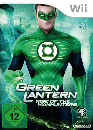 Green Lantern - Rise Of The Manhunters (English) (Wii)