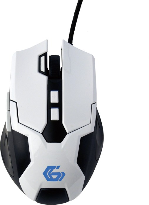 Gembird Gaming Mouse 04 white/black, USB (MUSG-04)