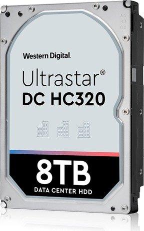 Western Digital Ultrastar DC HC320 8TB, SE, 4Kn, SATA 6Gb/s (HUS728T8TALN6L4/0B36402)