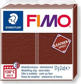 Staedtler Fimo Soft 57g leather effect nuss (8010-779)