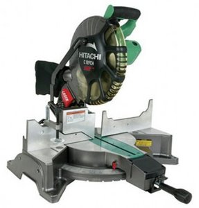 Hitachi C12FCH electric mitre saw