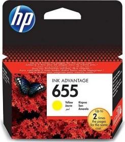 HP Tinte 655 gelb (CZ112AE)