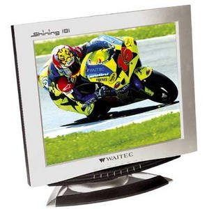"Waitec Shining 181TU, 18.1"", 1280x1024, TV-Tuner, analog/digital"
