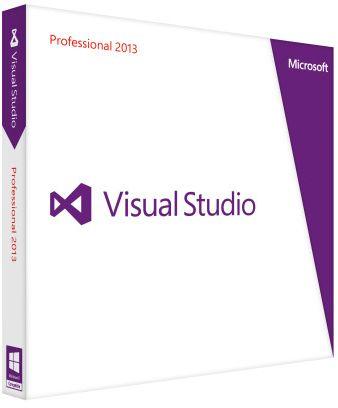 Microsoft Visual Studio 2013 Professional (English) (PC) (C5E-01018)
