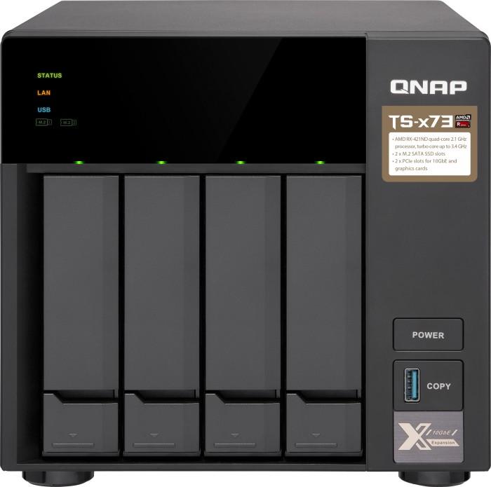 QNAP Turbo Station TS-473-64G, 64GB RAM, 4x Gb LAN