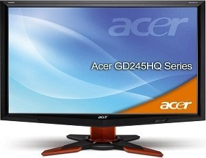 "Acer GD245HQbid black/orange, 23.6"" (ET.UG5U.004)"