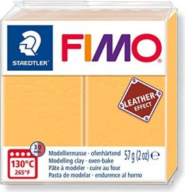 Staedtler Fimo Soft 57g leather effect safran (8010-109)