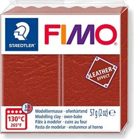 Staedtler Fimo Soft 57g leather effect rost (8010-749)