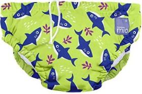 Bambino Mio Mehrweg-Schwimmwindel Gr.S Neon Haifisch, 5-7kg, 1 Stück (SWPS SHA)