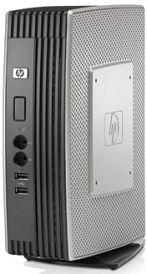 HP Compaq Thin Client T5740e, Atom N280, 2GB RAM, 4GB RAM Flash, WES 7 (A1U69AA)