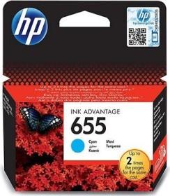 HP Tinte 655 cyan (CZ110AE)