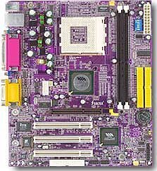 Soltek SL-75MIV2-L, KM400 [PC-2700 DDR]
