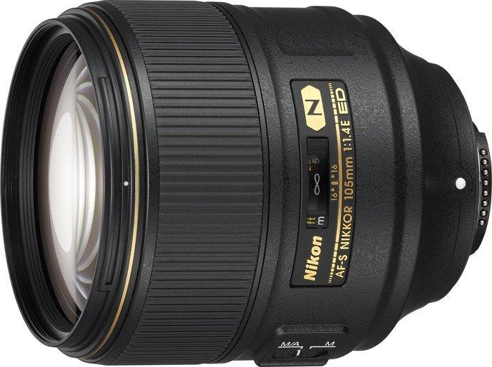 Nikon AF-S 105mm 1.4E ED black (JAA343DA)
