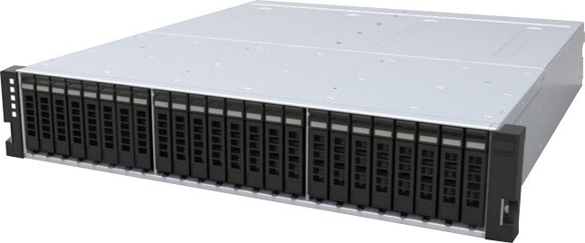 HGST 2U24 Flash Storage Platform 1ES0107, 46.08TB, 2HE, 600W redundant [Subsystem]