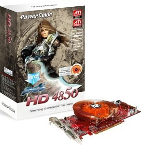 PowerColor Radeon HD 4850 PCS+, 512MB GDDR4, 2x DVI, TV-out (R77D-PE3)