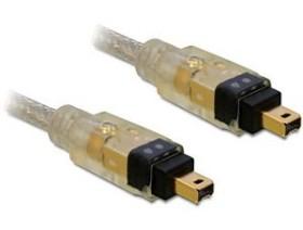 DeLOCK FireWire IEEE-1394 Kabel 4-Pin/4-Pin, 1.0m (82570)