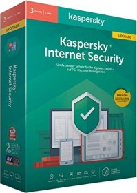 Kaspersky Lab Internet Security 2020, 3 User, 1 Jahr, Update, PKC (deutsch) (Multi-Device) (KL1939G5CFR-20)