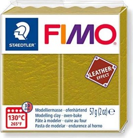 Staedtler Fimo Soft 57g leather effect olive (8010-519)